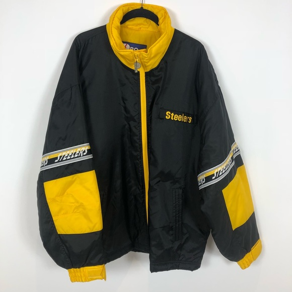 2657f9dbb Pro Player Jackets & Coats | Vintage Pittsburgh Steelers Jacket ...